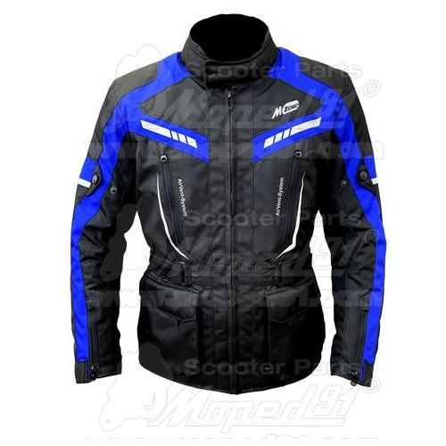 kerékpár fejvédő, méret: M, 54-58 cm. állítható, 10 db nagy szellőzőnyílás, rovar hálóval ellátott, Német Minőség