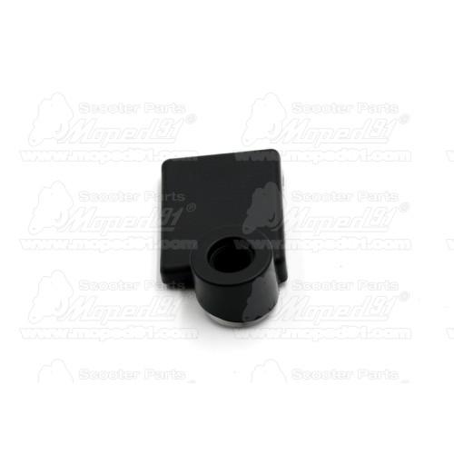 kerékpár nyereghuzat, pöttyös minta, feszítő zsinórral, 10 mm szivacsos párnázattal, univerzális méret: 250 x 230 mm. Német minő
