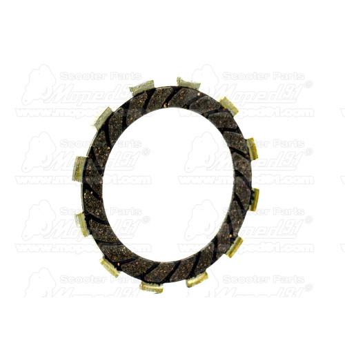 prizma, öntapadós motorkerékpár UNIVERZÁLIS 91x21 mm E-jeles sárga