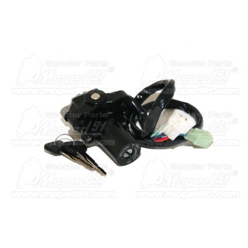 pótféklámpa MBK NITRO 50 / YAMAHA AEROX 50 króm MSP