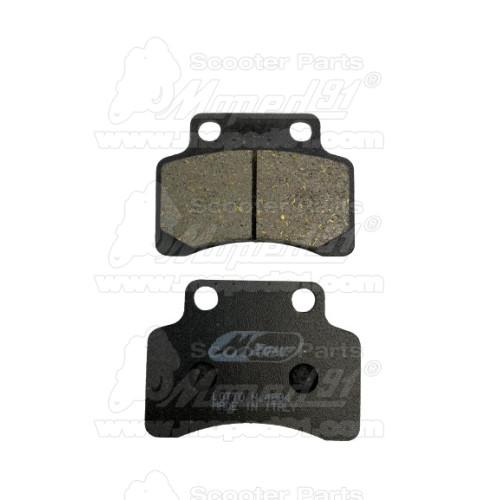 kuplung lamella szett APRILIA AF1 FUTURA 50 (91-92) / CLASSIC 50 (92-99) / EUROPA 50 (91-92) / MX 50 (04) / MX MOTARD 50 (95-03)