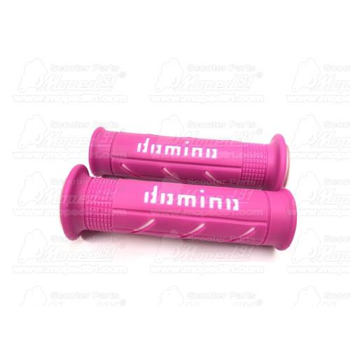 kerékpár lakat kulcsos, acélsodrony, sárga színű műanyag burkolat, LYNX