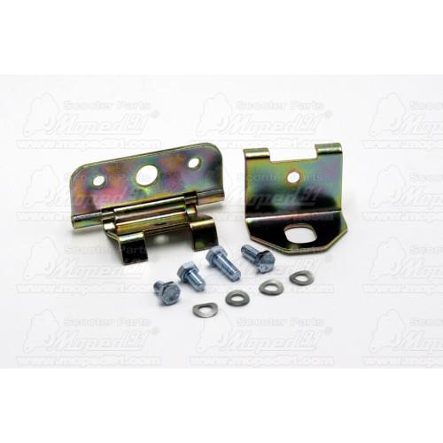 teleszkóp hátsó ETZ 125-250 / MZ TS 125-150-250 SPORT 365 mm, 5 fokozatban állítható, párban (30-26.010) Német Gyári Minőség MZA