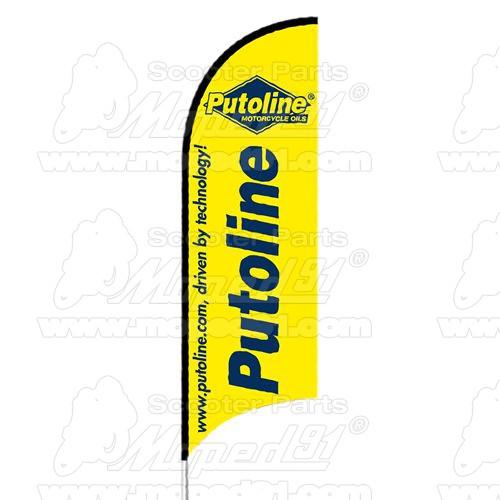PUTOLINE Brakefluid DOT 4 RACING Magas minőségű verseny fékfolyadék (fékolaj) magas hőállósággal (300C) 500ml