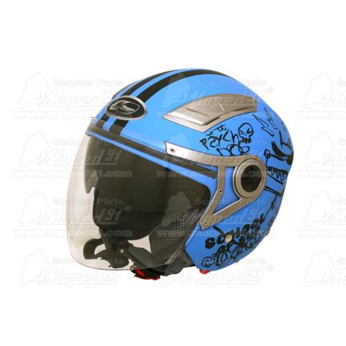kerékpár kormányszarv alumínium, anatómiai forma, egy darabból álló, 22,2 mm, matt fekete, 130g, MTB, LYNX Német Minőség