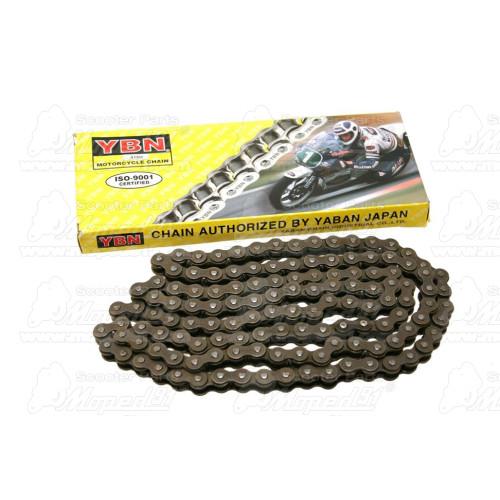 BMX lánckerék Z44 1/2 x 1/8 acél, fekete LYNX Német Minőség