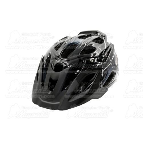 szemüveg cross, felszerelt roll-off film rendszerrel, vastag szivacsbetéttel ami a homlokhoz és az orrhoz kiválóan illeszkedik,
