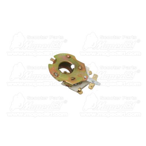 kerékpár fékkar alu/műanyag, V és cantilever fékekhez, állító csavarral és visszahúzó rugóval, 2-4 ujjas, 105 mm, párban MTB LYN