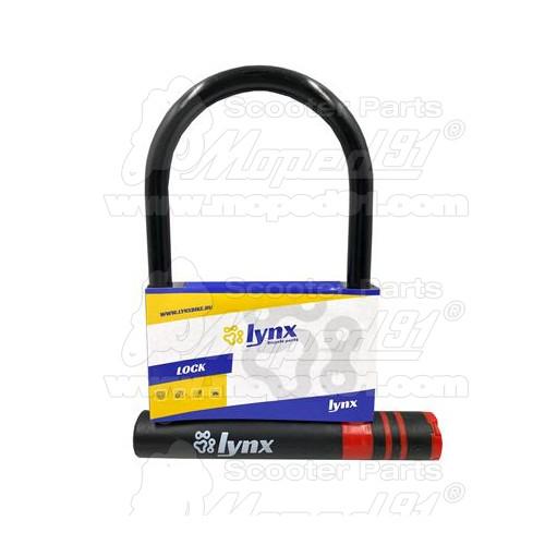 kerékpár nyeregcső bilincs gyorskioldós 31,8 mm. alumínium, tengely: 6 mm. LYNX