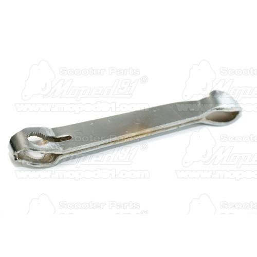 kerékpár dinamó balos, fekete műanyag test, 6V/3W LYNX Német Minőség