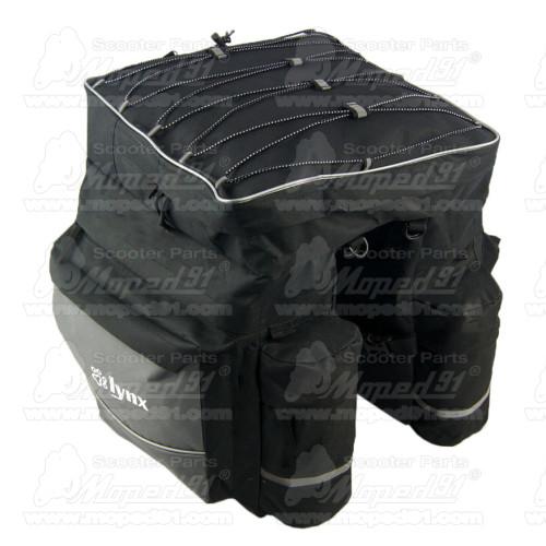 kipufogó tartó króm SIMSON 51 enduro ívelt (195290)
