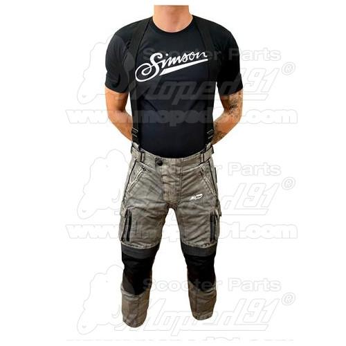 kerékpár első sárvédő, 24-26 col, alsó vázcsőre, szerszám nélküli könnyű rögzítés, fekete színű LYNX