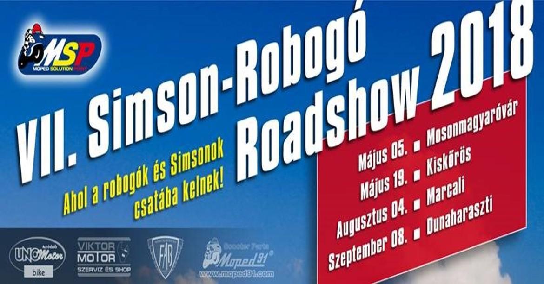 Robogó roadshow 2018