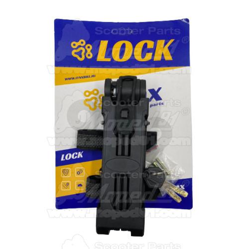 kerékpár prizma sárvédőre, 41 mm, piros LYNX Német minőség
