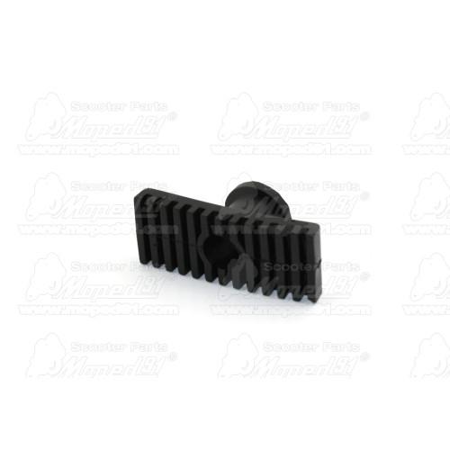kerékpár pedál párban, műanyag, csúszásmentes kialakítás, fekete, fényvisszaverő prizmával