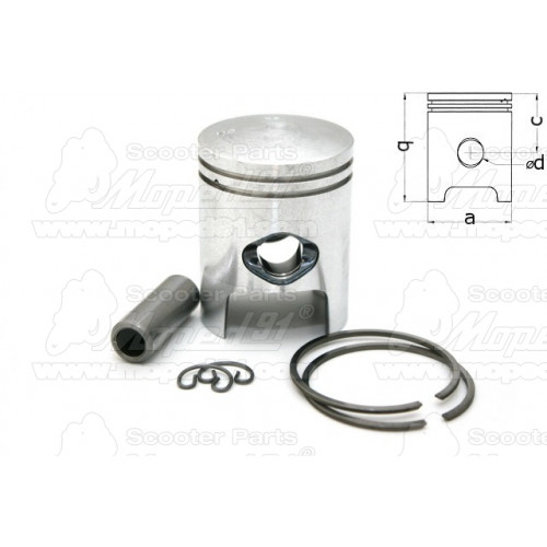 termosztát APRILIA AREA 51 / AM6 LC 50 / GULLIVER 50 / MX 50 (-05) / RALLY 50 / RS 50 (94-06) / RS 50 TUONO / RX 50 (99-05) / SR