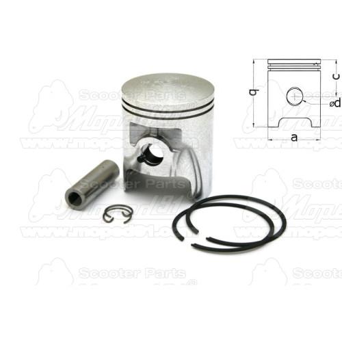 lámpa mini, króm, párban, kék színű, motorkerékpár