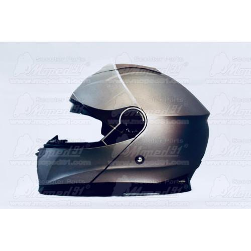 kerékpár sárvédő nyereg alá, ultrakönnyű műanyag, fehér-fekete LYNX