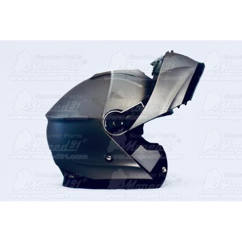 kerékpár sárvédő 26 col, 3 részből - 2 hátsó 1 első részből áll, pálcás, hajlékony ütásálló műanyag, fekete szín LYNX