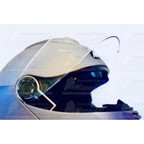 kerékpár kulacstartó, könnyű műanyag kompozit anyagból, 35 g. átlátszó kék MTB LYNX