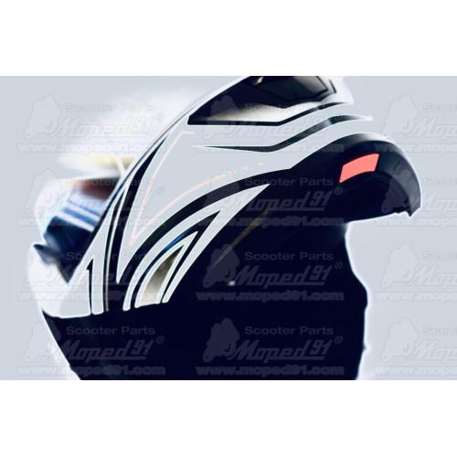 kerékpár lámpa első hátsó szett (fehér és piros külső és fény) 2db szilikon lámpa, 2 LED-es, 2 funkciós (folyamatos és villogó)