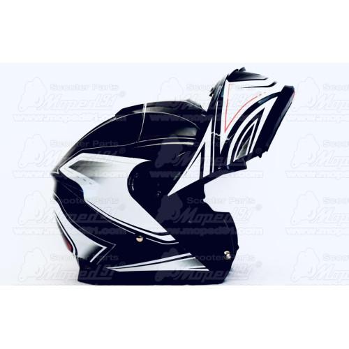 kipufogó dob SIMSON enduro S 51 fekete (229081)