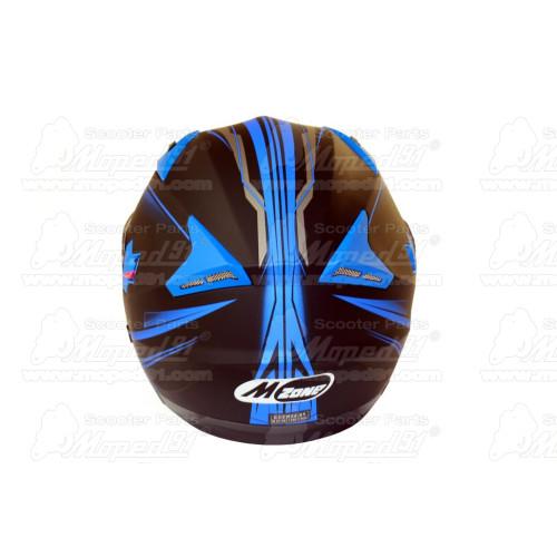 kerékpár csengő alumínium d: 53 mm, zöld fekete LYNX Német minőség