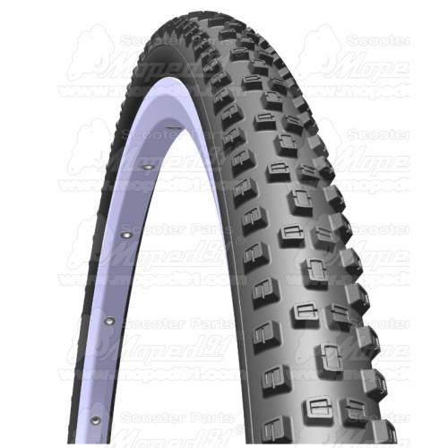 kerékpár prizma hátsó, d: 45 mm piros LYNX