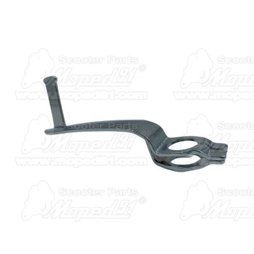 kulcstartó, fémből készült, logóval ellátott bevásárlókocsi érme, mindkét oldalán dombornyomott - SIMSON MZA