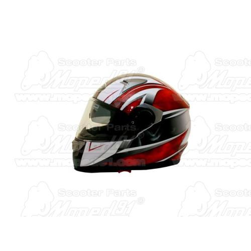 kerékpár láncvédő 24-26-28 col, 44-46-48T, 120 mm, tartóvassal, polikarbonát műanyag, átlátszó füst szín LYNX