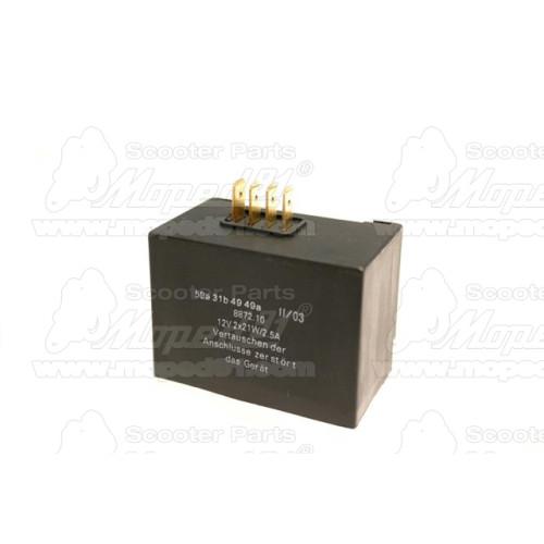akkumulátor 12V 4Ah (YB4L-B) savas 120x70x92 savcsomag MZONE