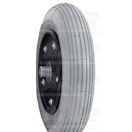 kerékpár középtengely monoblokk 127,5 / 31 mm acél csészékkel, fekete masszív tengely, max. nyomaték 58 NM, MTB LYNX Német Minős