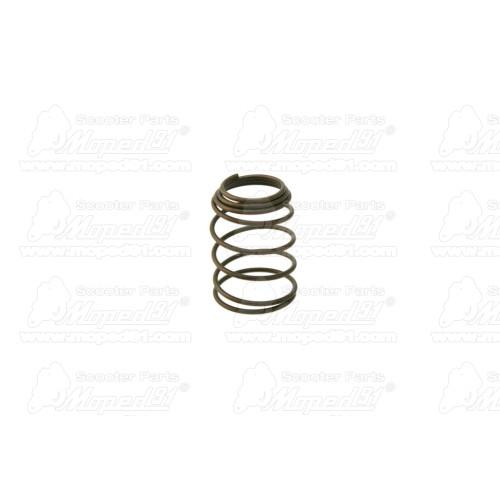 kerékpár lámpa hátsó, dinamós, RETRO, 6V / 0.5W izzóval, 160 cm vezetékkel, krómos
