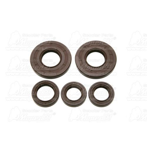 térdvédő gumicsík SIMSON SCHWALBE KR51 285 mm fekete (348450) Német minőség EAST ZONE
