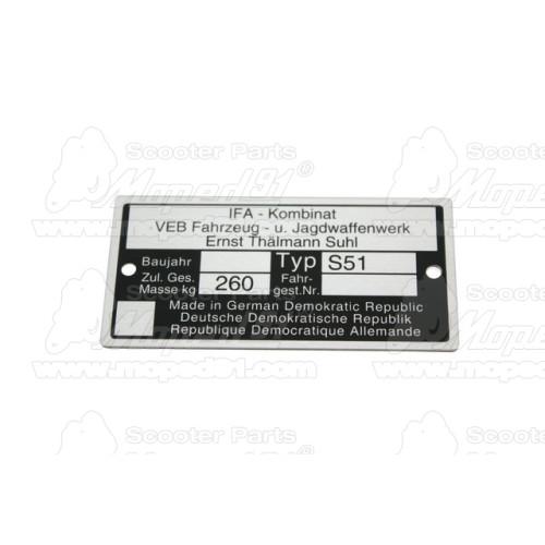 dugattyú gyűrű 52.00x1.5 (oldalstift) B9 2T