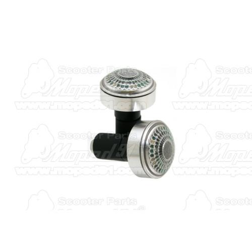 irányjelző SIMSON 53 / S83 / ROLLER SR50 / ROLLER SR80 komplett karbon (512810) Német Minőség EAST ZONE