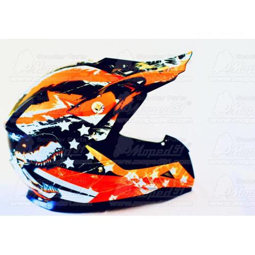markolat motorkerékpár fukszia-fekete párban 120-125 mm DOMINO