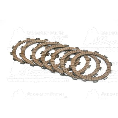 zéger gyűrű hátsó fékpofához SIMSON 50 / S51 / S53 / S70 / S83 / ROLLER SR50 / ROLLER SR80 / SCHIKRA 125 / SCHWALBE KR51 / SIMSO