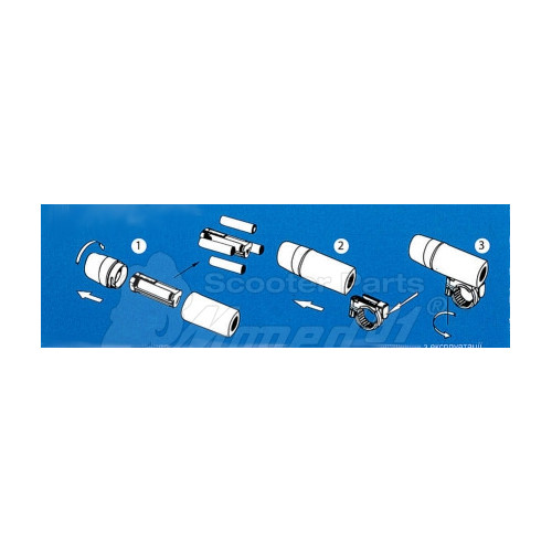 kürt kapcsoló SIMSON 51 / S53 / S70 / S83 / ROLLER SR50 (391210) Német minőség EAST ZONE