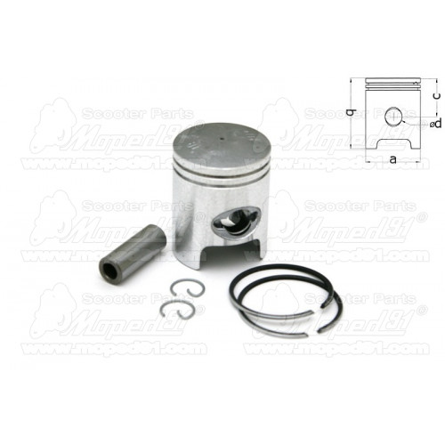 levegőszűrő ház SIMSON 50 / S51 / S70 TUNING, 100 mm átmérőjű kétrétegű speciális légszűrőszivacs, szívócső gumi: 28/40 mm, (20