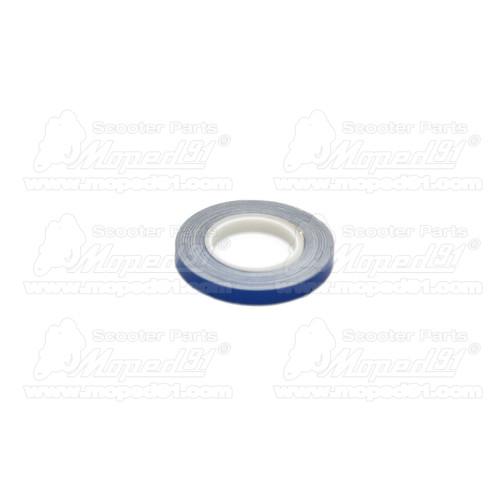 kerékpár keréktengely komplett (első) 139x7mm
