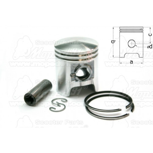 kerékpár kerékagy 36H komplett (első)