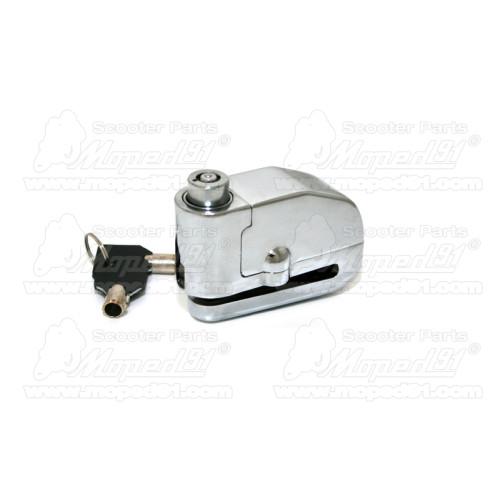 kerékpár pumpa (krómos) elfordítható fejjel