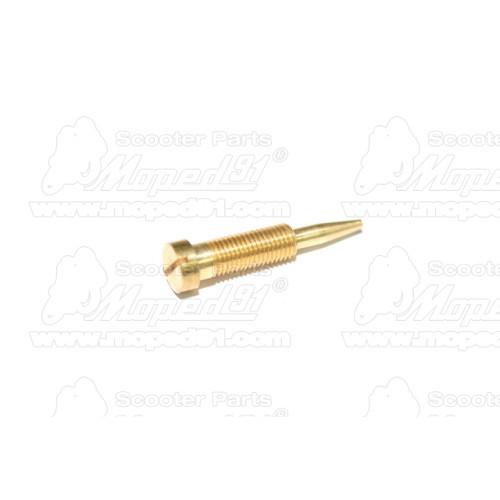 sárvédő első SIMSON ENDURO S51 / S53 / S70 / S83 / SPERBER fekete (197450-069) Német Minőség