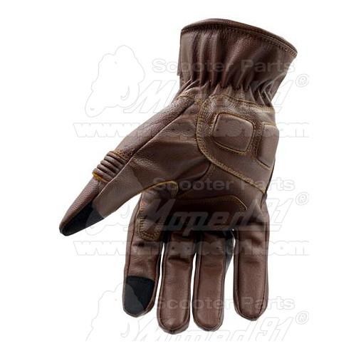 Kesztyű motoros nyári URBAN, méret: XXXL, hosszú ujjas, fekete-neon, erősített gumírozott kialakítás a kéztőnél, magas minőségű