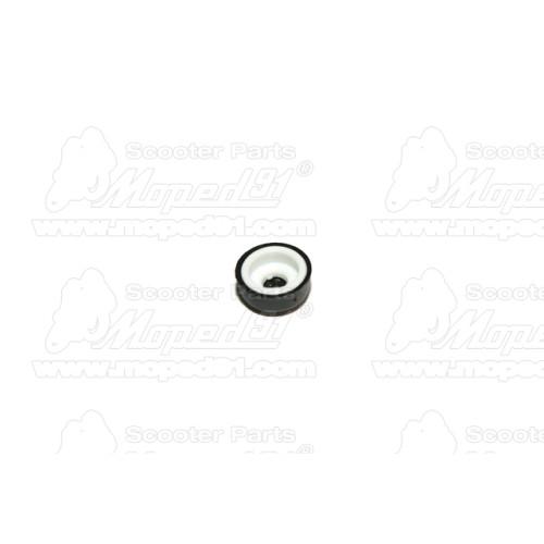 kerékpár tükör balos prizmával (fehér) 8mm Német minőség