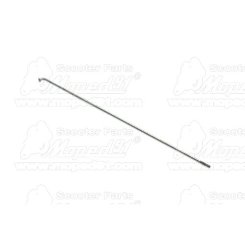 szívató dugattyú alumínium ETZ / SIMSON 50 / S 51 / S 53 / S 70 / S 83 / ROLLER SR 50 / ROLLER SR 80 / SCHWALBE KR 51 (393320)
