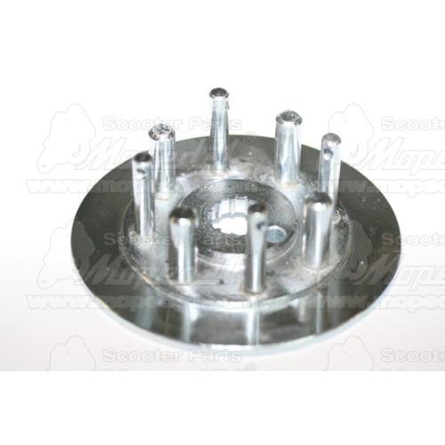 kerékpár fékcsőfej szerelt