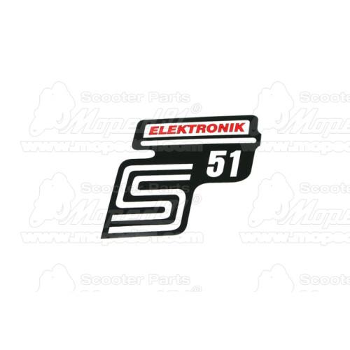lengővilla szilent SIMSON S 50 / S 51 / S 53 / S 70 / S 83 (205411)